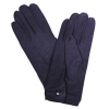 Nylon Men's Gloves With Snap Black